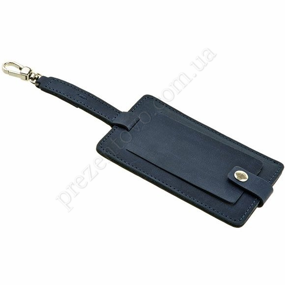 Бирка для багажа BlankNote BN-TAG-1-NN Crazy Horse синий