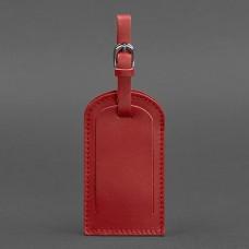 Бирка для багажа BlankNote BN-TAG-2-red