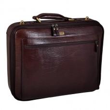 Сумка портфель для ноутбука кожаная Petek 3870-041-02