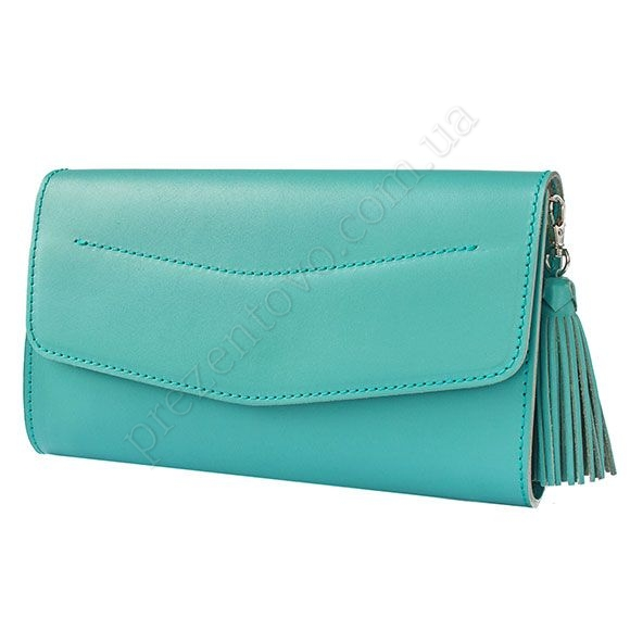 Женский клатч BlankNote BN-BAG-7-Tiffany бирюзовый