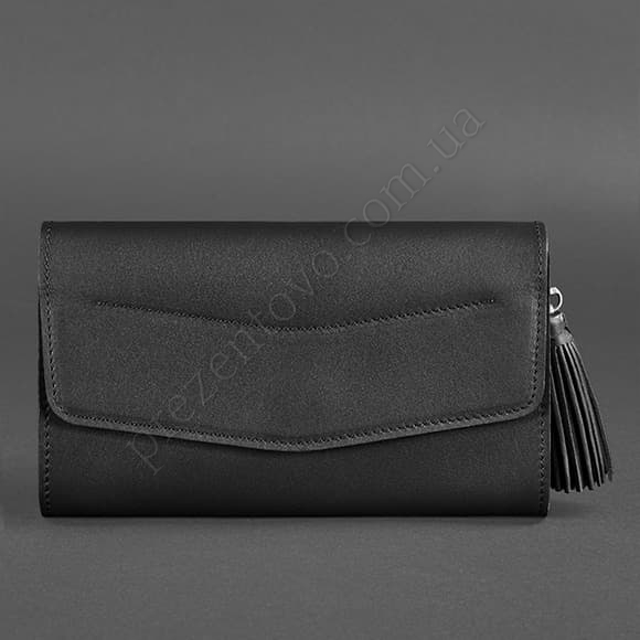 Жіночий клатч BlankNote BN-BAG-7-G чорний
