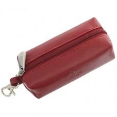 Ключница кожаная Visconti MZ-18 Red