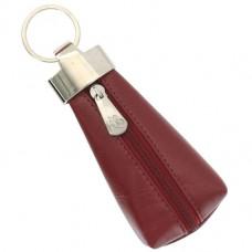 Ключница кожаная Visconti MZ-20 Red