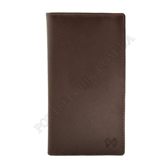 Чоловічий гаманець Tumble and Hide 2310 17 2 коричневий