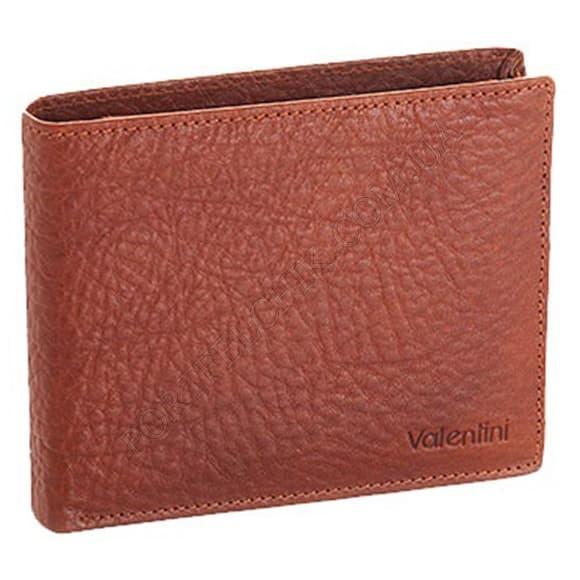 Чоловічий гаманець Valentini 159-137-2 коричневий