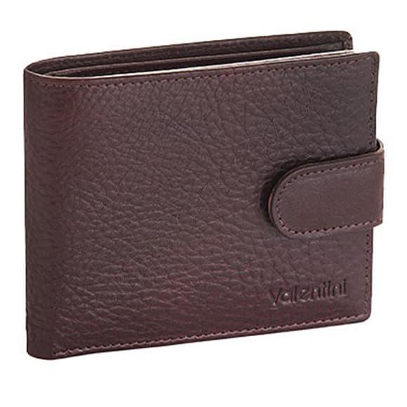Чоловічий гаманець Valentini 159-902-3 коричневий
