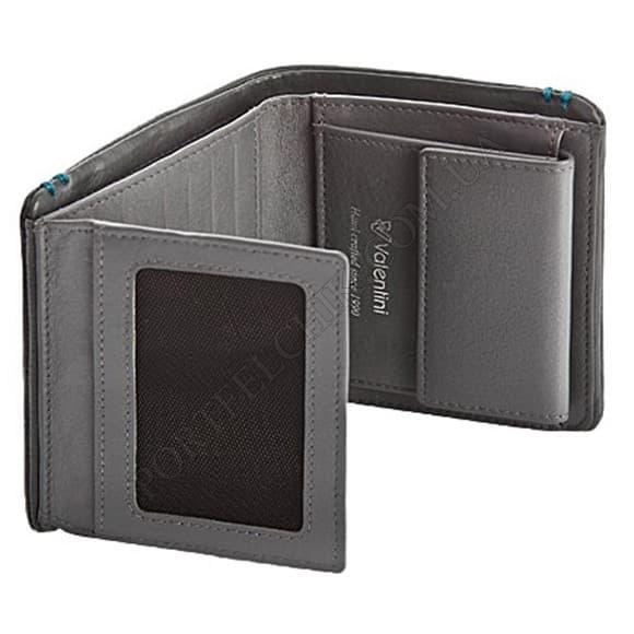 Чоловічий гаманець Valentini 166-115-21 сірий