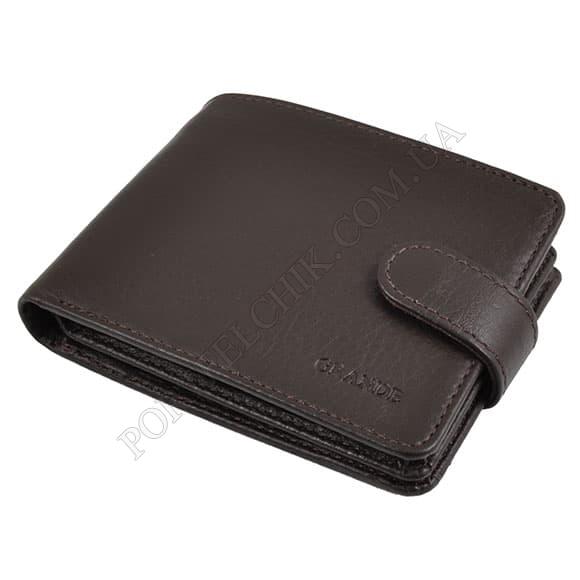 Мужской кошелек Grande 1515-01 коричневый
