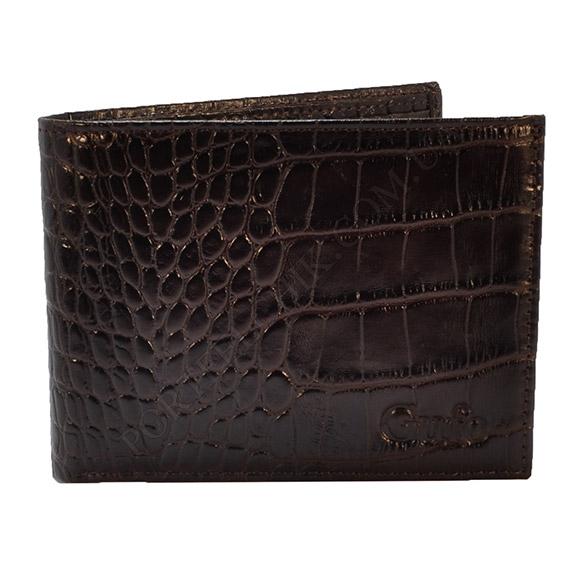 Мужской кошелек Gufo 0497-57 коричневый