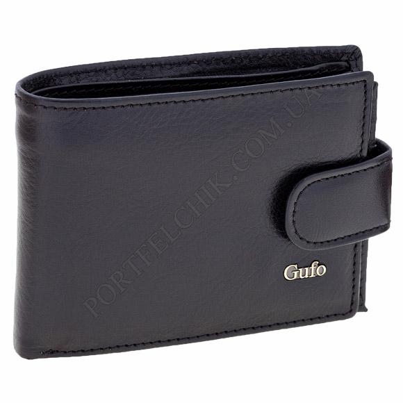 Чоловічий гаманець Gufo 1241010 чорний