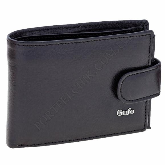 Мужской кошелек Gufo 1241510 черный