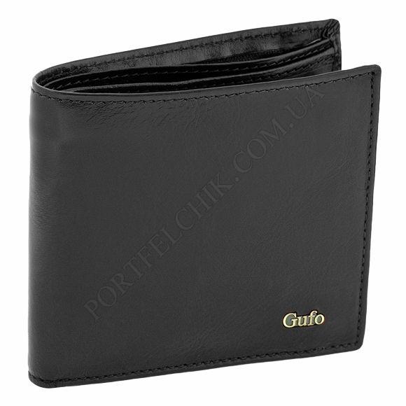 Чоловічий гаманець Gufo 1401010 чорний