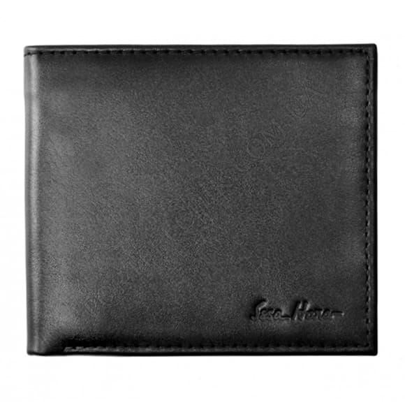 Чоловічий гаманець Issa Hara WB1 (01-00) чорний