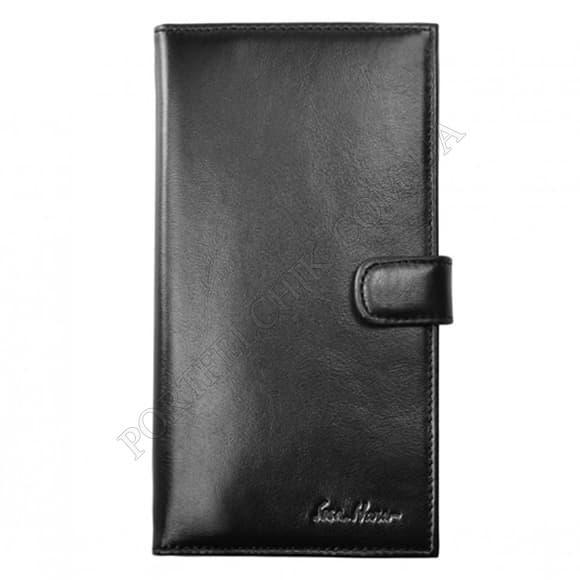 Чоловічий гаманець Issa Hara WB2-1 (01-00) чорний