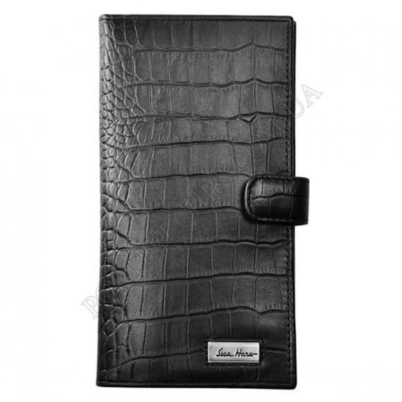 Чоловічий гаманець Issa Hara WB2-1 (21-00) чорний