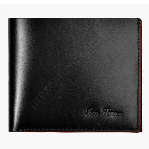 Чоловічий гаманець Issa Hara WB5 (01-00) чорний
