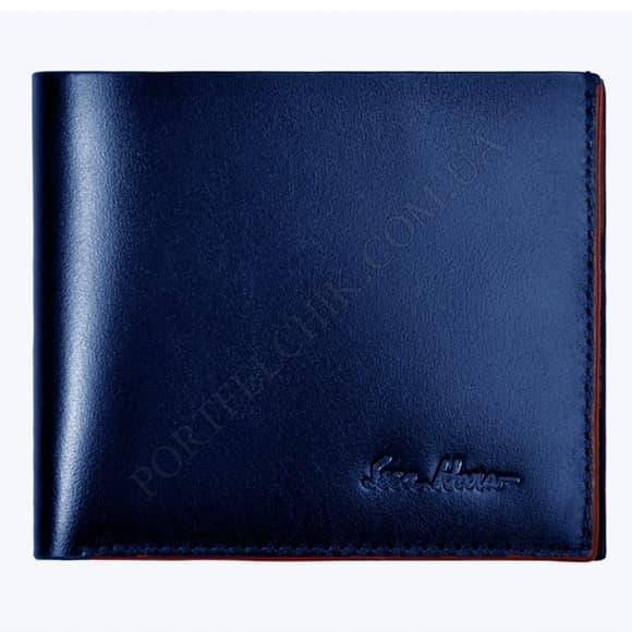 Чоловічий гаманець Issa Hara WB5 (03-00) синій