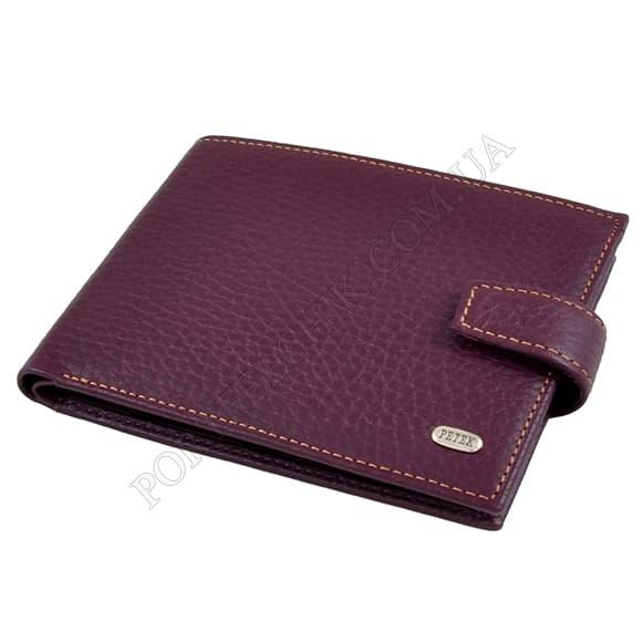 Чоловічий гаманець Petek 102-46BD-KD3 бордовий