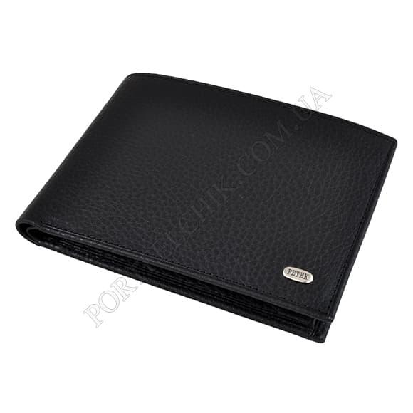 Чоловічий гаманець Petek 108-46D-01 чорний