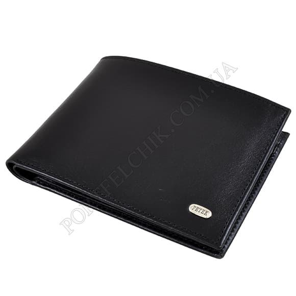 Чоловічий гаманець Petek 112-000-01 чорний