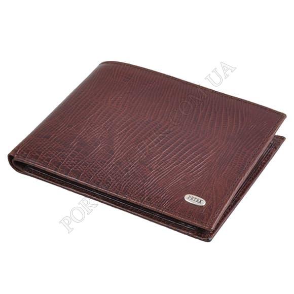 Чоловічий гаманець Petek 112-041-02 коричневий