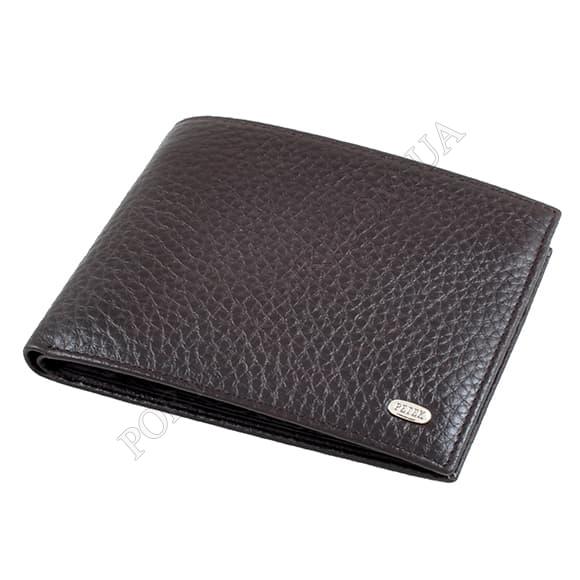 Чоловічий гаманець Petek 114-46B-02 коричневий