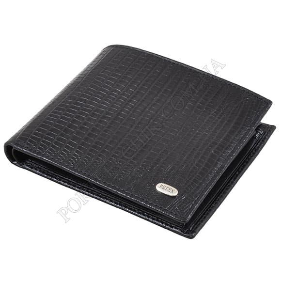 Чоловічий гаманець Petek 120-041-01 чорний