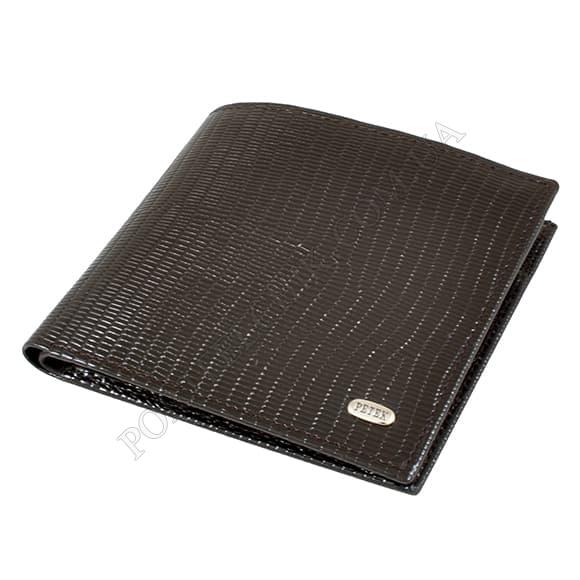 Чоловічий гаманець Petek 121-173-02 коричневий
