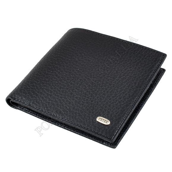 Чоловічий гаманець Petek 121-46D-01 чорний