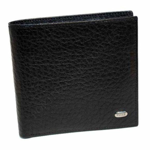 Чоловічий гаманець Petek 121-46B-01 чорний
