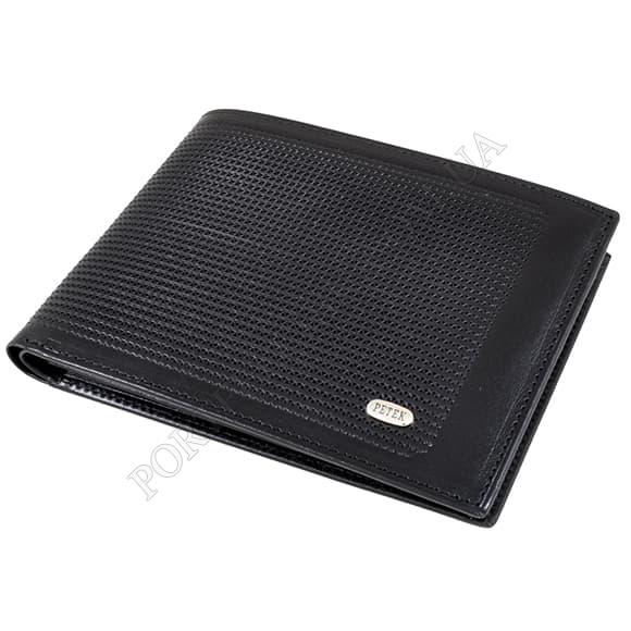 Чоловічий гаманець Petek 137-022-01 чорний