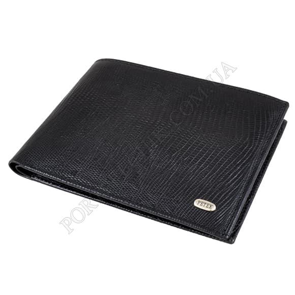 Мужской кошелек Petek 137-041-01 черный