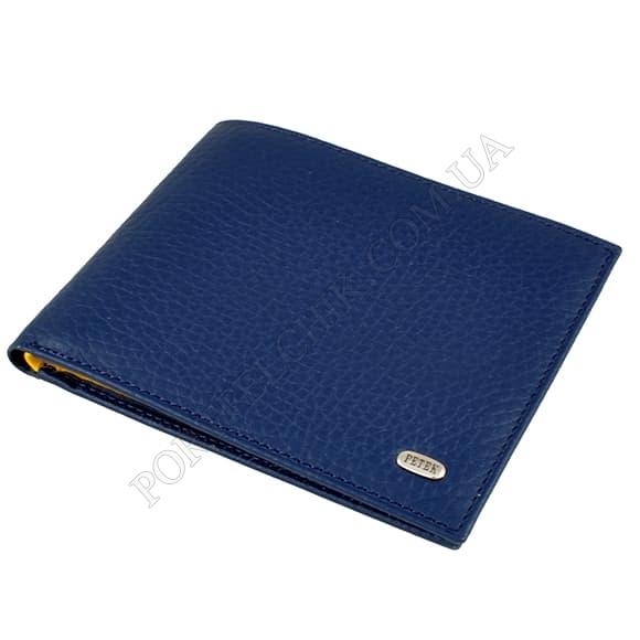 Чоловічий гаманець Petek 139-46BD-A17 синій, комбінований