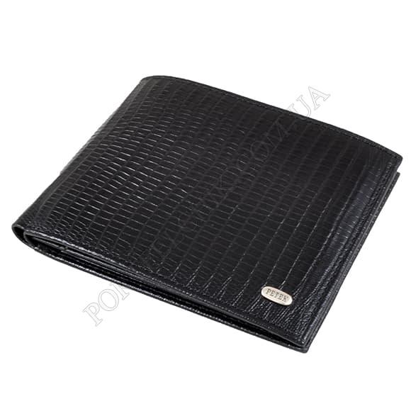 Чоловічий гаманець Petek 140-041-01 чорний