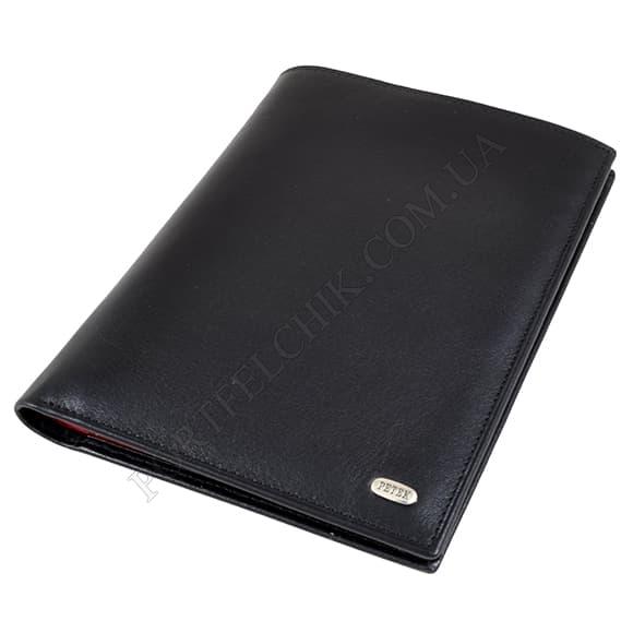 Чоловічий гаманець Petek 142-000-A31 чорний, комбінований