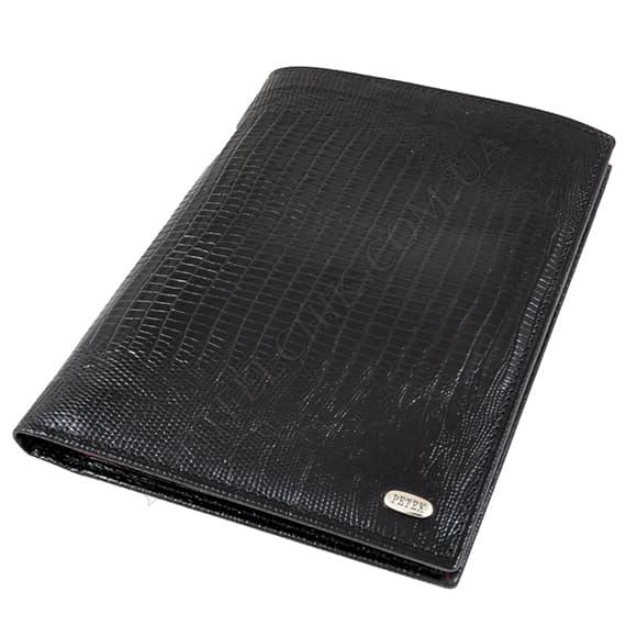 Чоловічий гаманець Petek 142-041-A31 чорний, комбінований