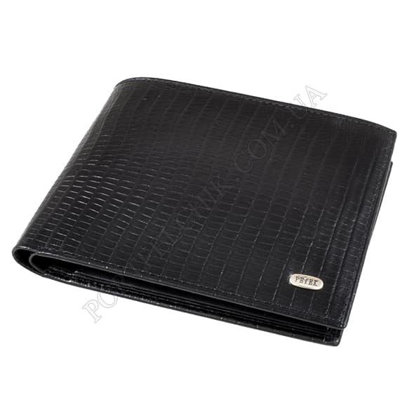 Чоловічий гаманець Petek 169-041-01 чорний