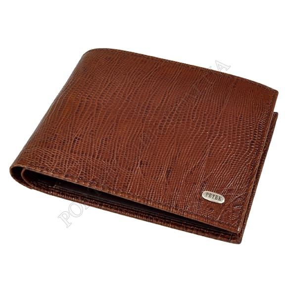Чоловічий гаманець Petek 169-041-02 коричневий