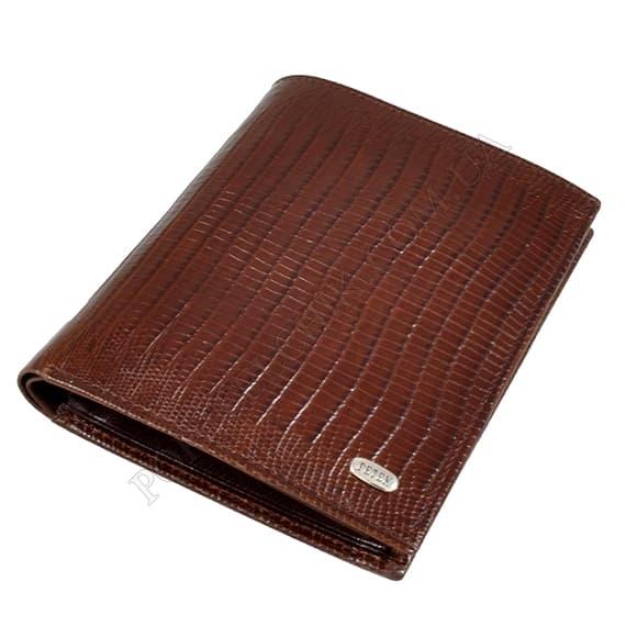 Чоловічий гаманець Petek 251-041-02 коричневий