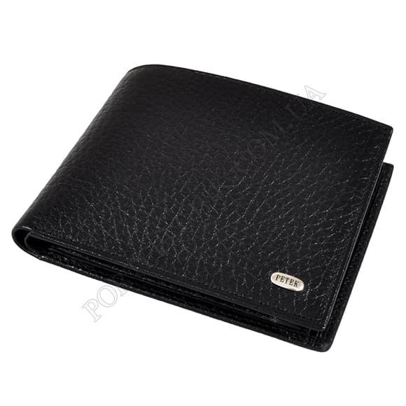 Чоловічий гаманець Petek 279-46B-01 чорний
