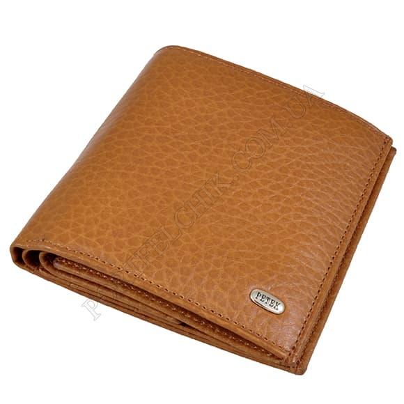 Чоловічий гаманець Petek 280-46B-37 бежевий