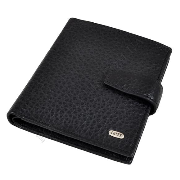 Чоловічий гаманець Petek 287-46B-01 чорний