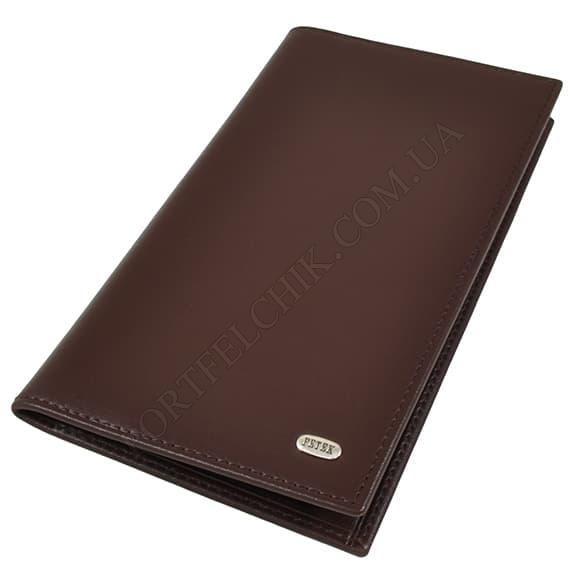 Чоловічий гаманець Petek 296-000-222 коричневий