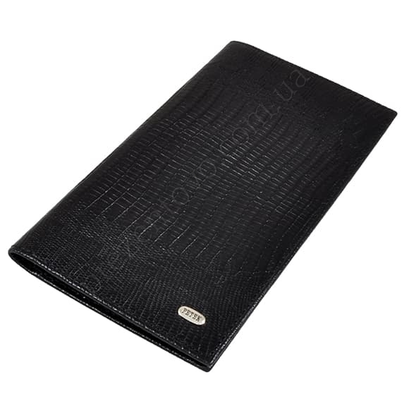 Чоловічий гаманець Petek 296-041-01 чорний