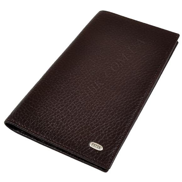 Чоловічий гаманець Petek 296-46D-02 коричневий