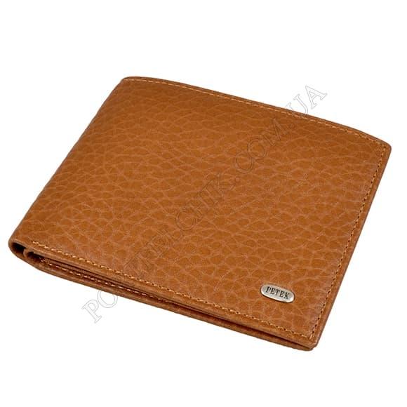 Чоловічий гаманець Petek 299-46B-37 бежевий