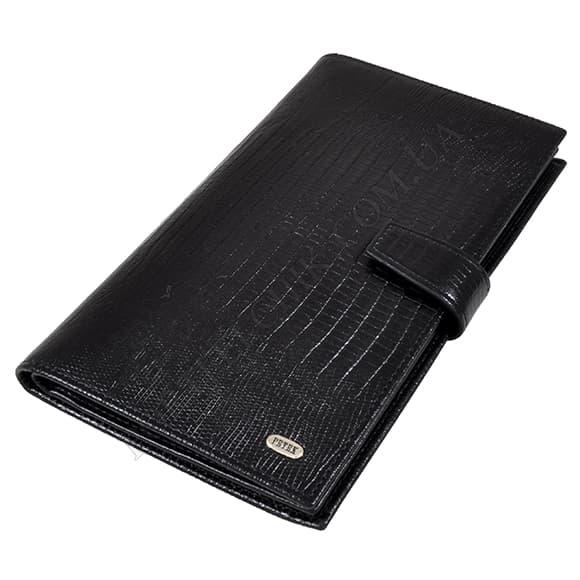 Чоловічий гаманець Petek 557-041-01 чорний