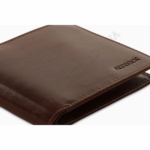 Чоловічий гаманець Redbrick RBWC0015 Brown коричневий
