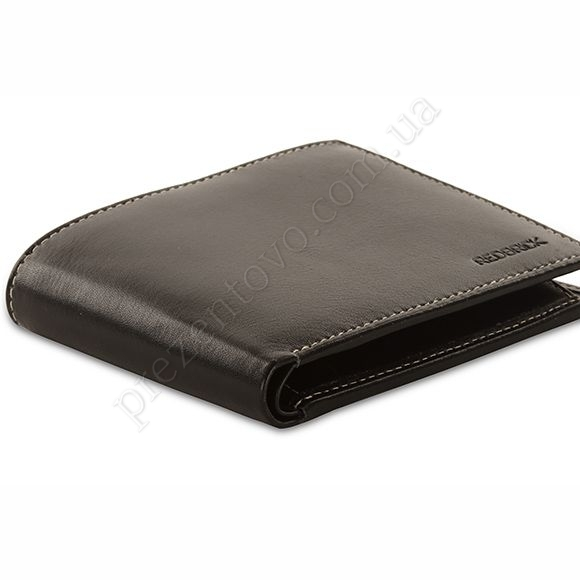 Чоловічий гаманець Redbrick RBWC0017 Black чорний