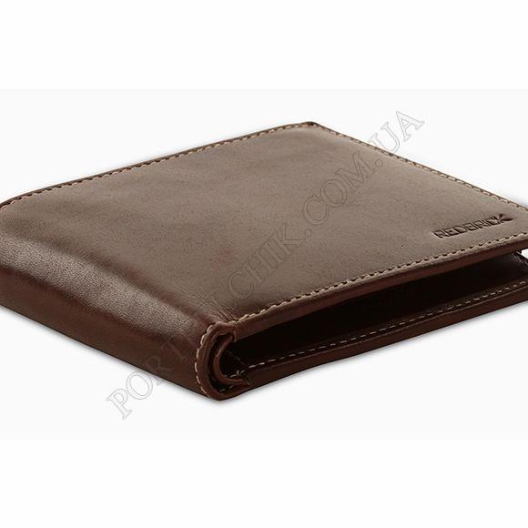 Чоловічий гаманець Redbrick RBWC0017 Brown коричневий